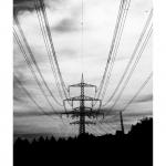 Stromtrassen bei Rodt