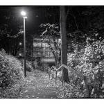 Gummersbach, Reininghauserstrasse, Parkplatz hinter der Schule
